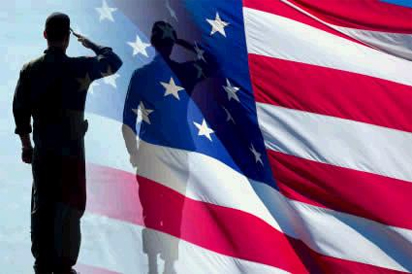 PBYR flag-salute-silhouette