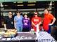 (L-R) Gary Goldetsky, PBYR Chair, Sylvia Grismer, PBYR Vice Chair, Kaelan Grismer, PBYR volunteer, Lauren Crew, Plymouth Holiday and Alan Crew, Plymouth Holiday