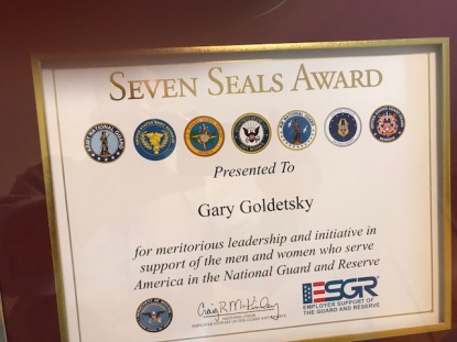 Seven Seals award