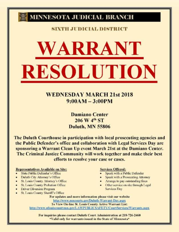 Warrant Resolution