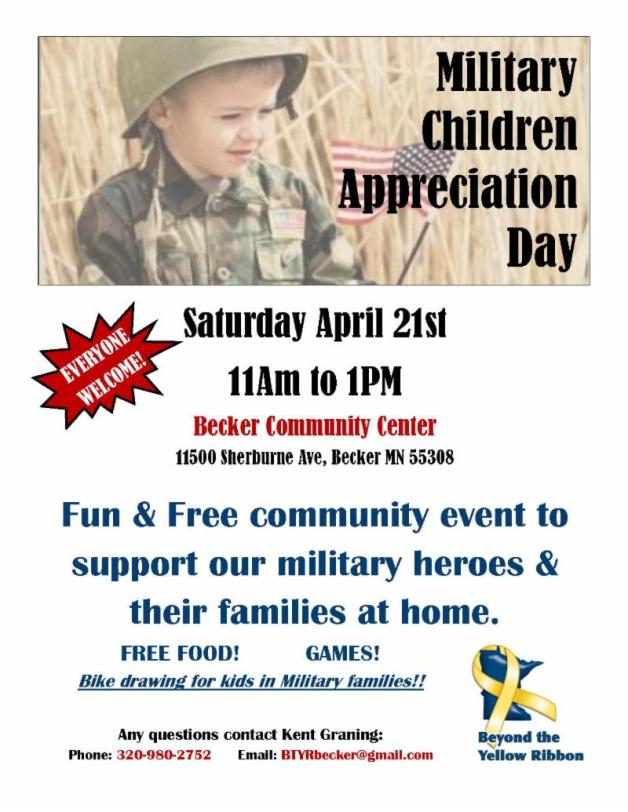 Military Child Appreciation Day