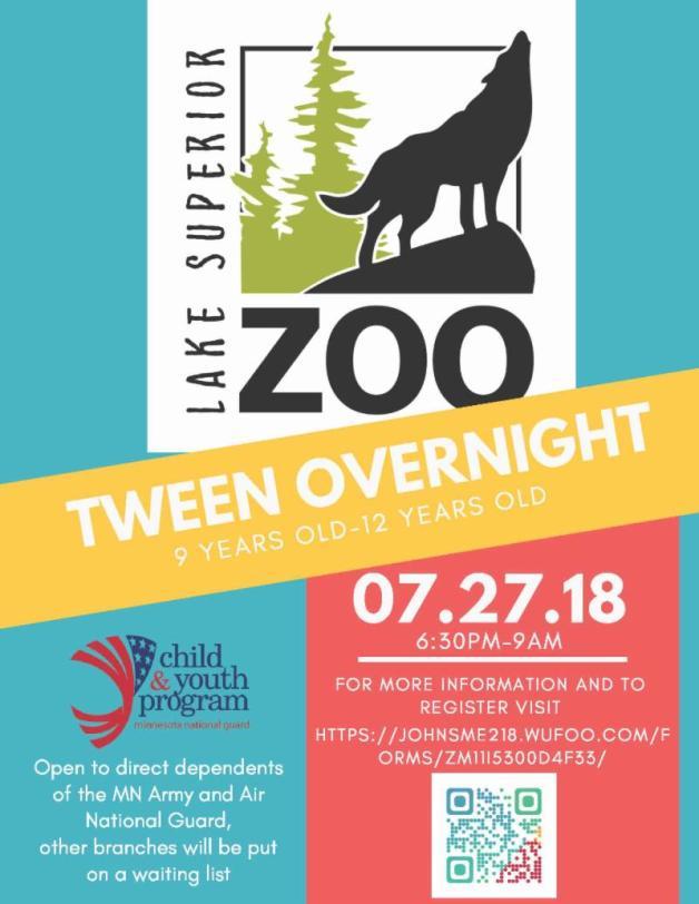 Tween Overnight-July
