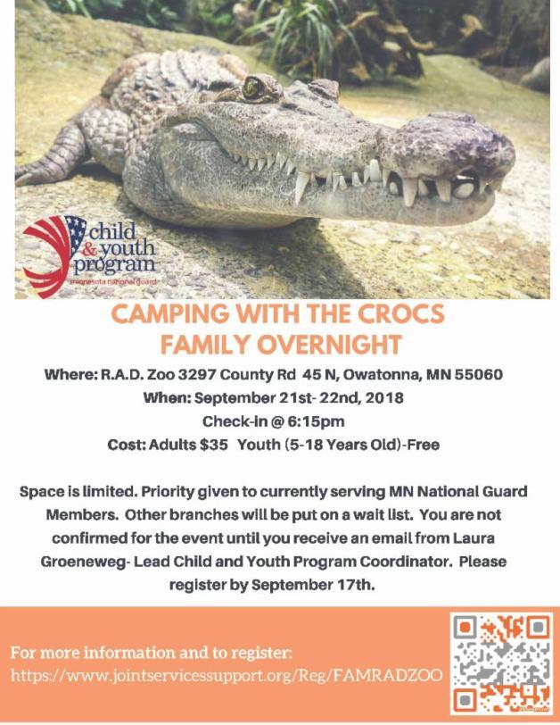 RAD Zoo Flyer